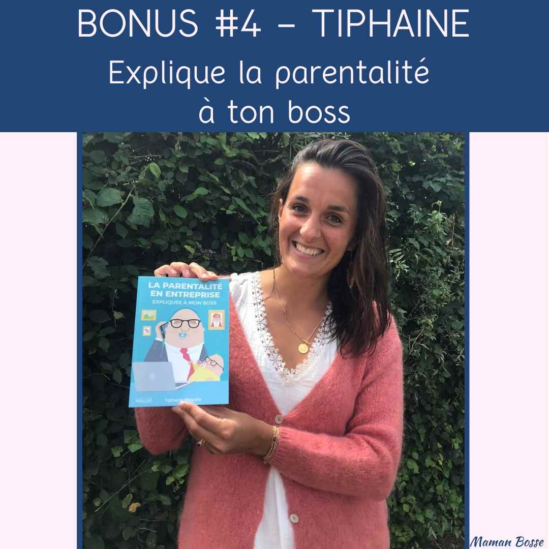 couverture maman bosse podcast tiphaine maille