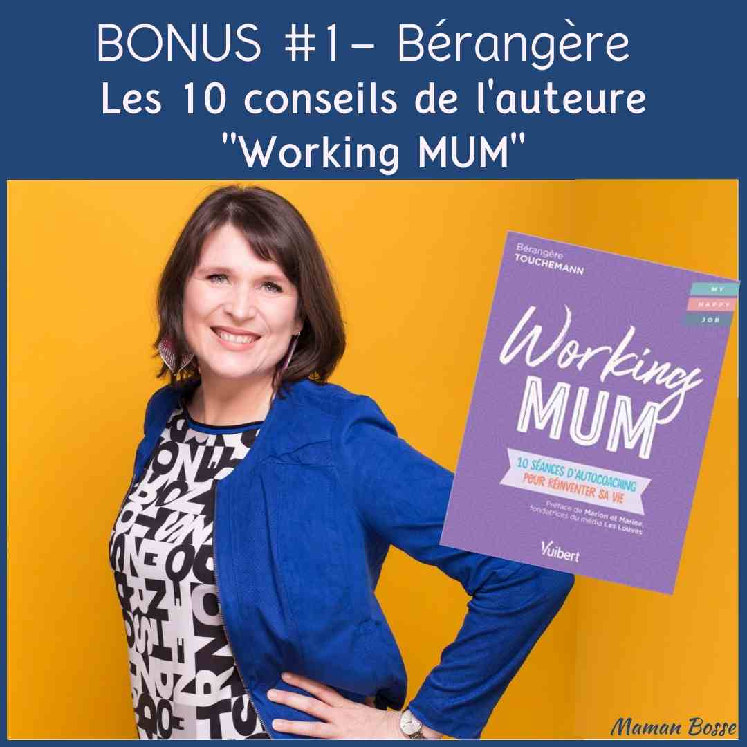 couverture episode bonus 1 berangere touchemann auteure working mum
