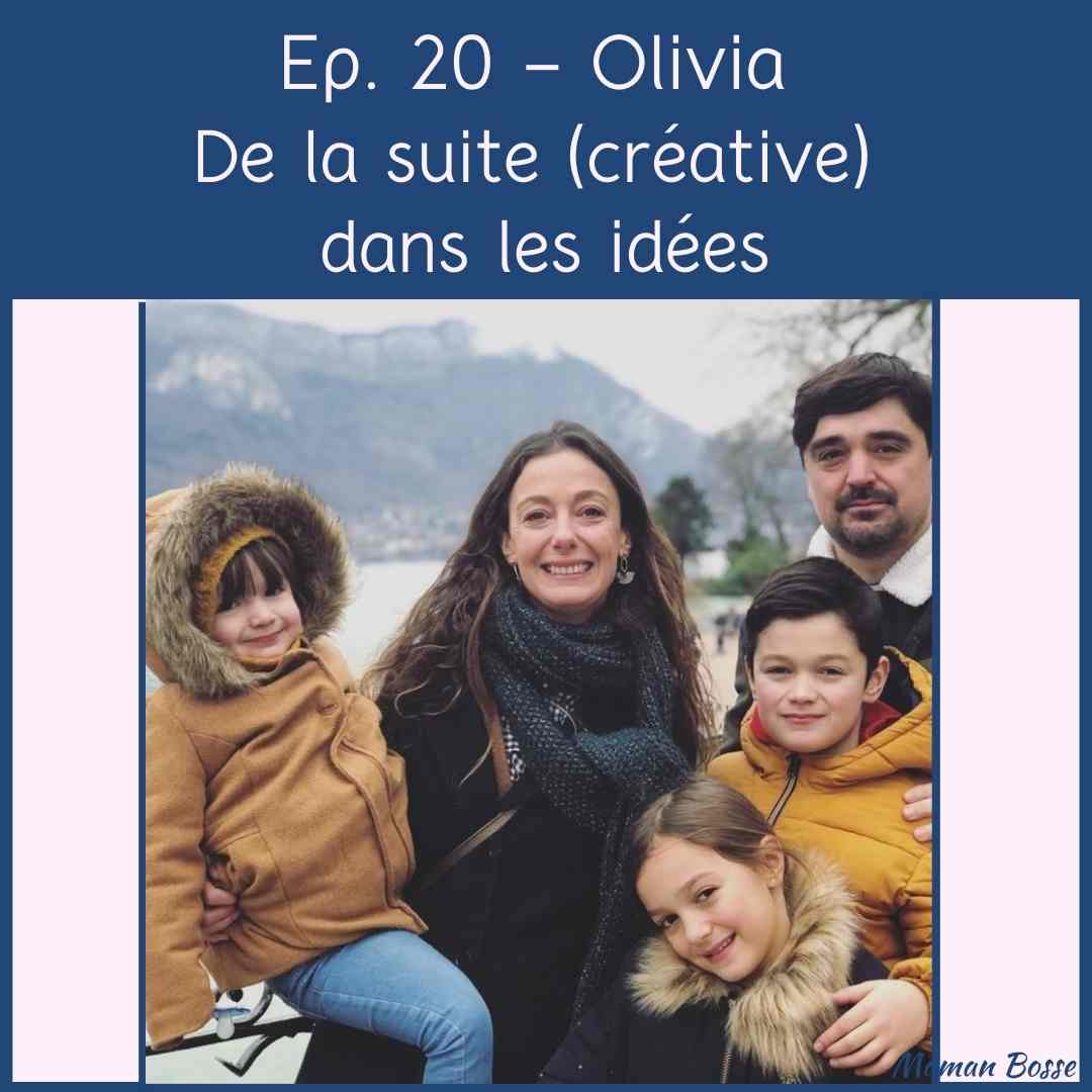 couverture episode 20 maman bosse podcast