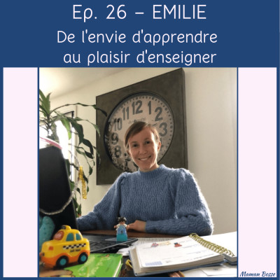 couverture episode 26 maman bosse podcast