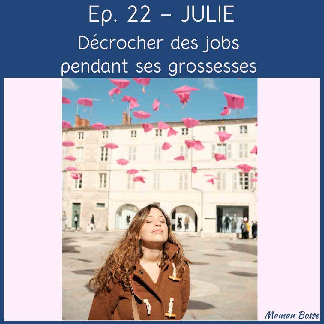 couverture episode 22 maman bosse podcast