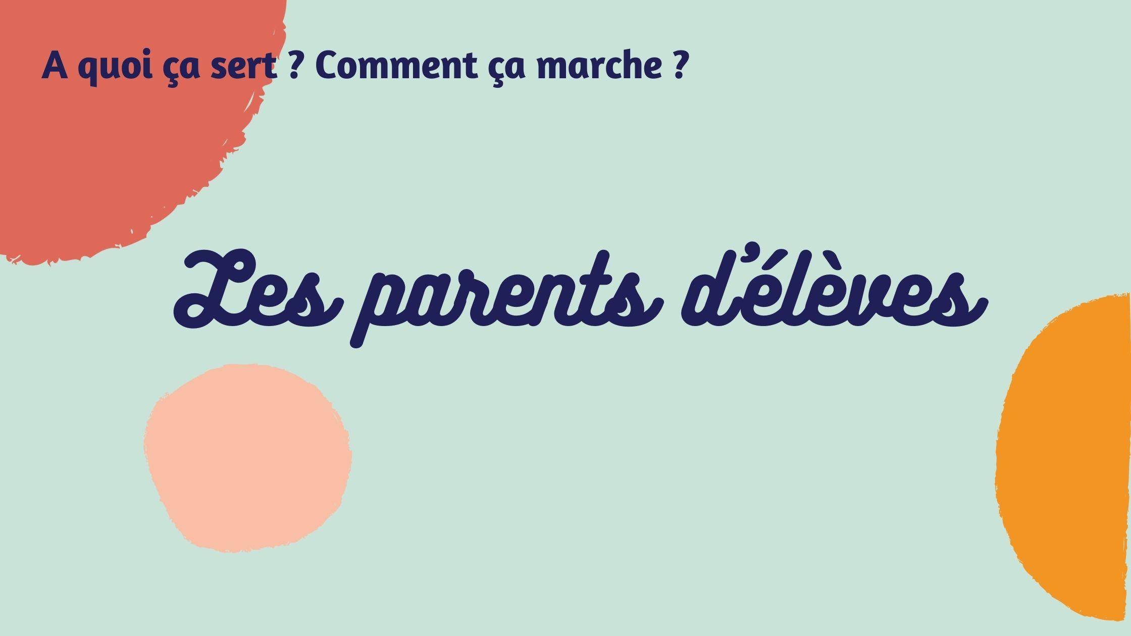 élection des parents d'élèves